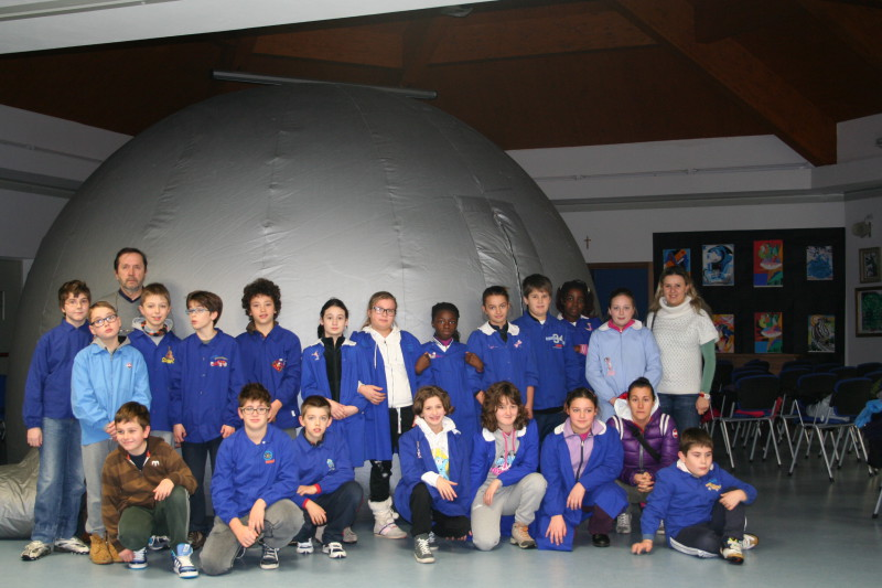Visita scolastica al planetario