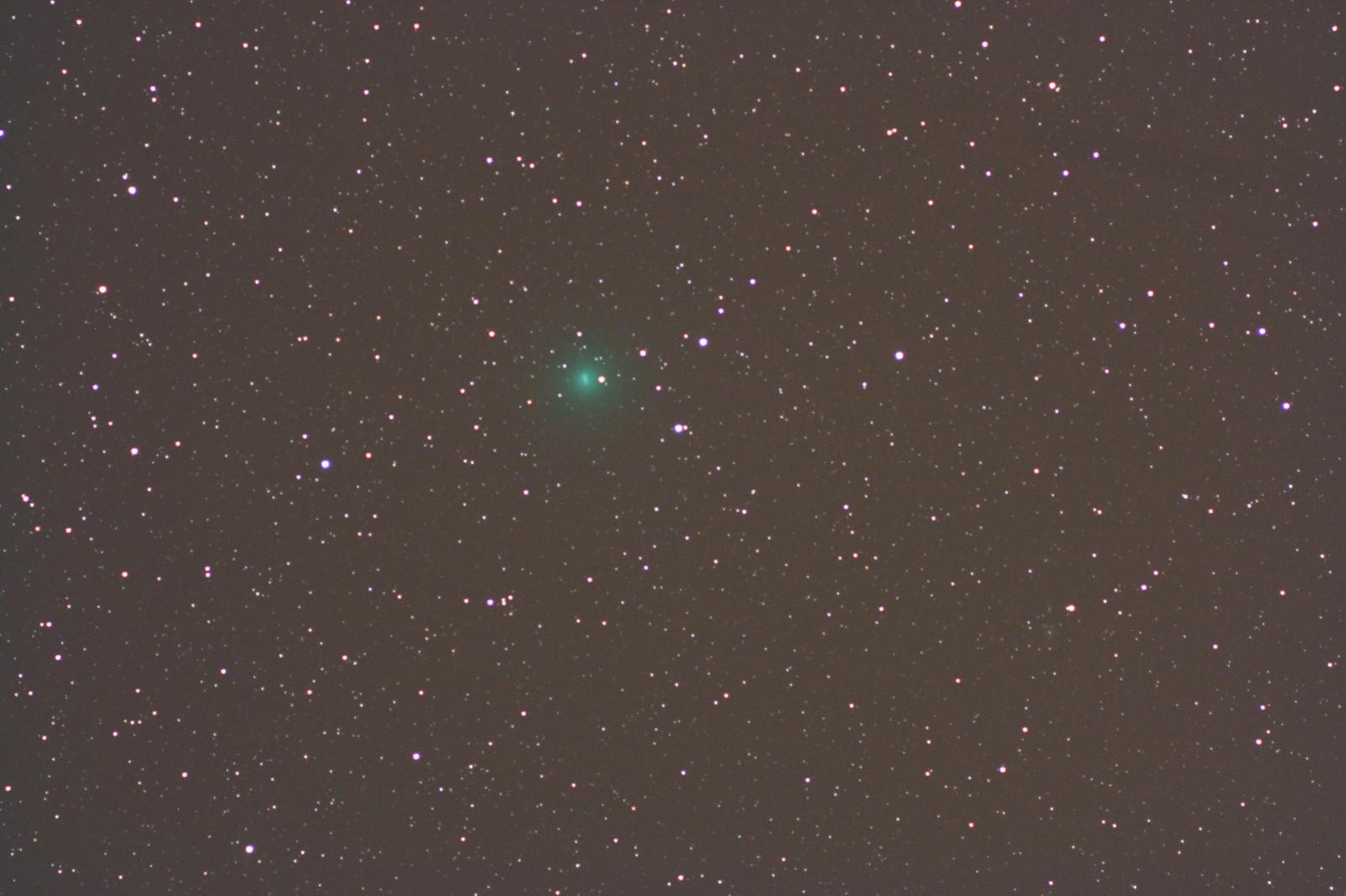 Cometa Tuttle in Andromeda