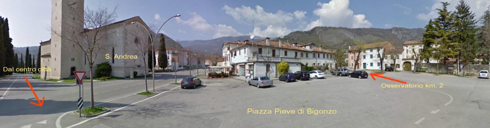 Piazza Pieve di Bigonzo
